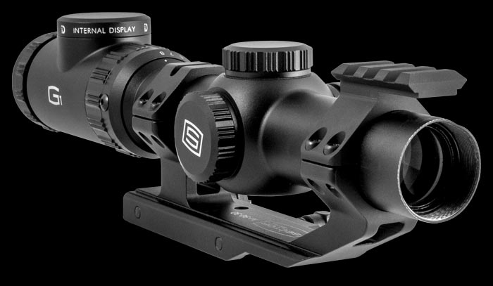 The G1 is a superb 1-8x24 riflescope with anti-reflective coatings and an illuminated reticle in the second focal plane.